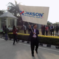 Flagging off the cyclothon on National Cleanliness Day - Noida